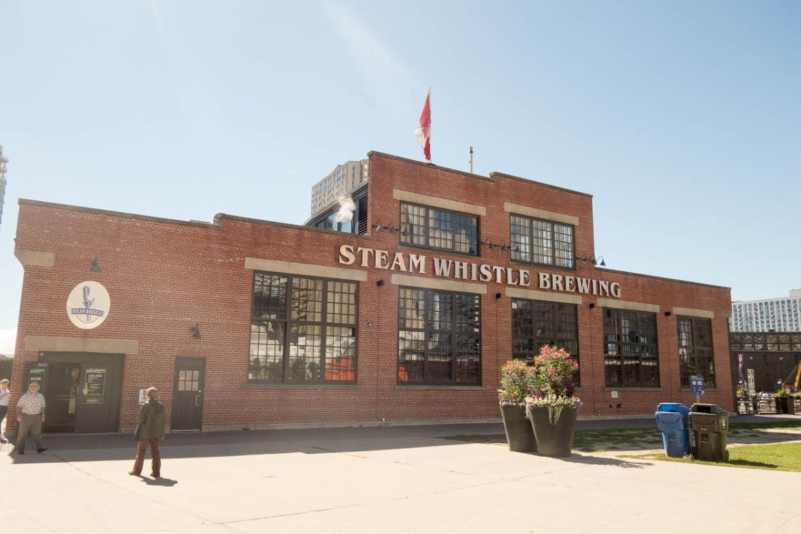 Steam Whistle Brewing Company, Toronto