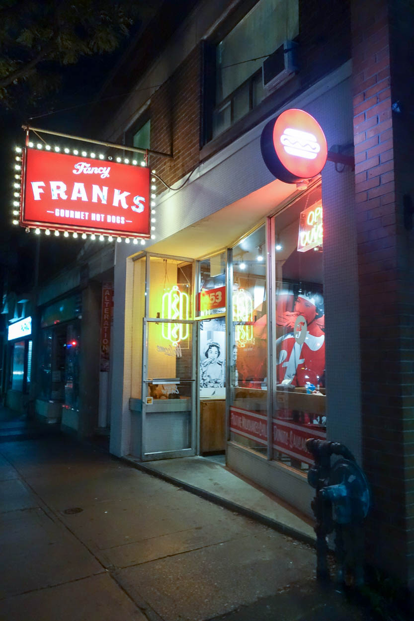 Fancy Franks, Queen Street West, Toronto