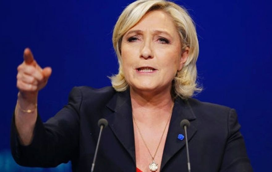 Far-Right French Candidate Marine Le Pen Advances to Runoff