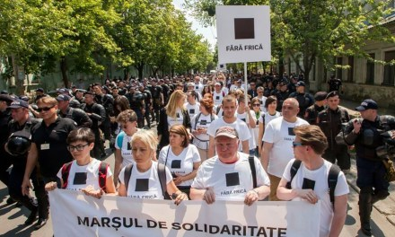 Moldovan Police Halt LGBT March After Attacks By Counterprotesters.