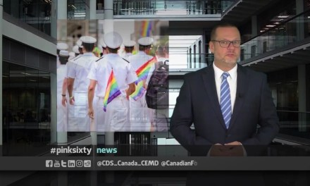 FORCES FREE TO WEAR UNIFORM AT PRIDE | Pinksixty News
