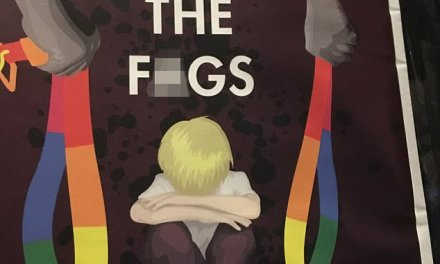 POSTERS: 'Stop the f*gs'
