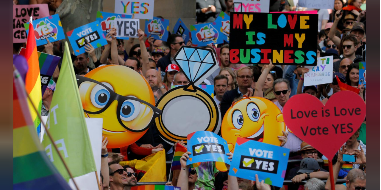 Australia: Gay Marriage Rally Draws Record Crowds