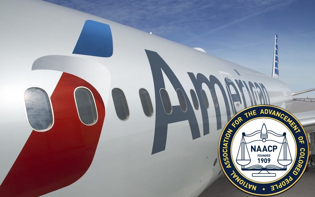 NAACP Issues Warning Over American Airlines