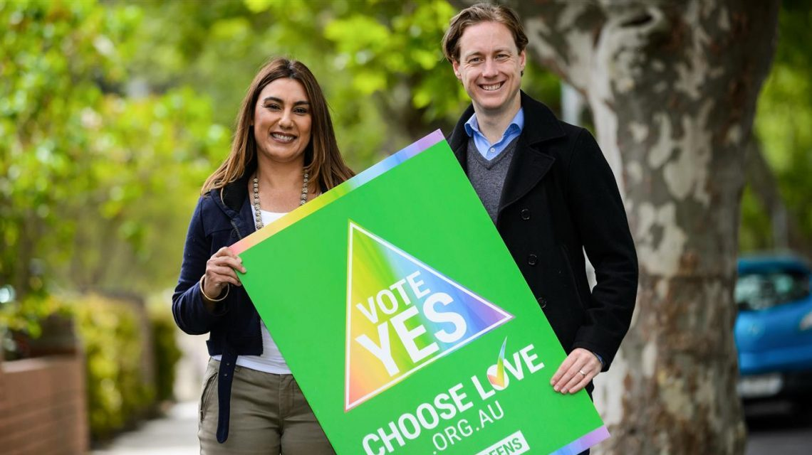 Greens To Support For Marriage Equality Vote
