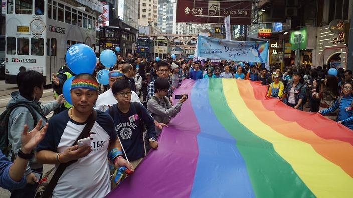 Hong Kong Marches for Equal Rights at Annual Pride