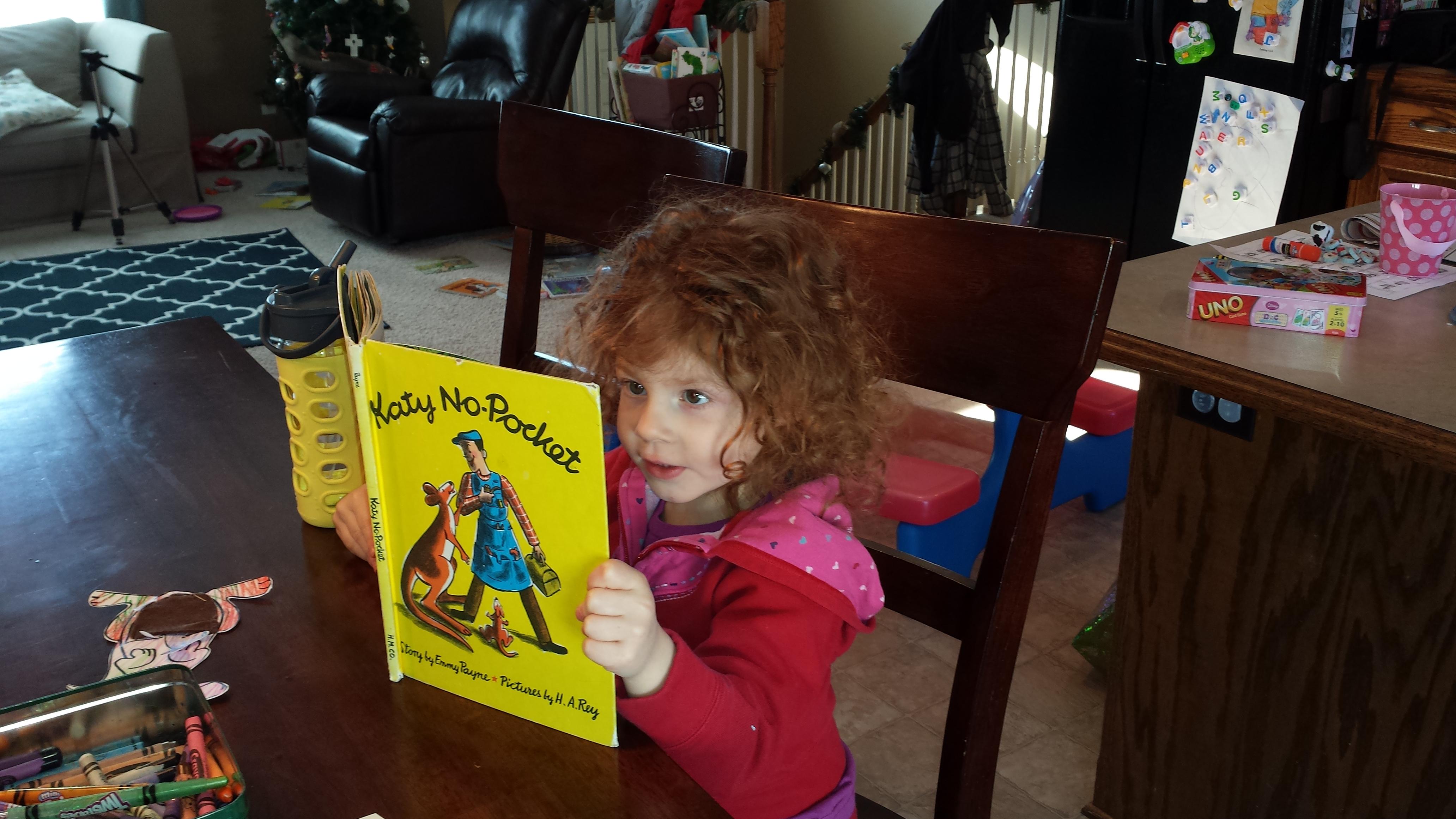 Preschool Letter K Katy No Pockets