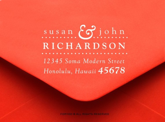 Cool Return Address For Wedding Invitations 68 Your Inspiration With