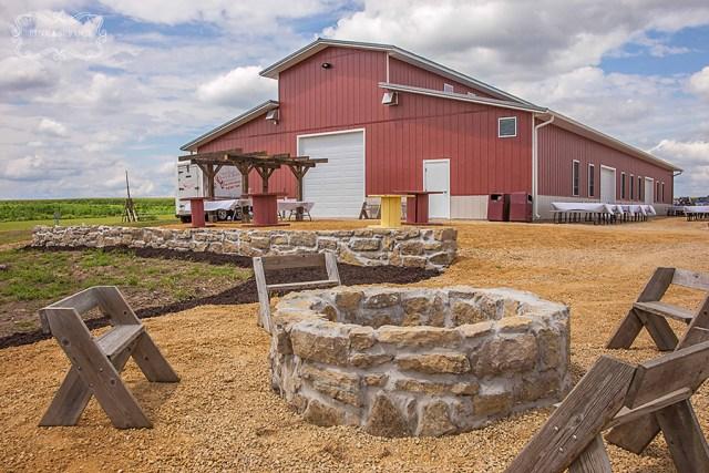 Vesperman Farms Wedding Bonfire