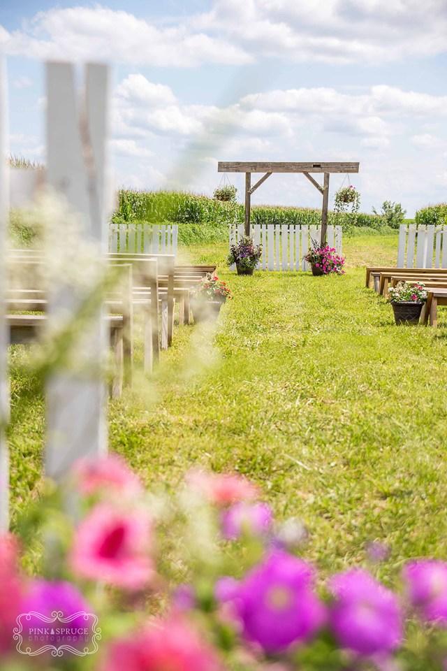 Vesperman Farms Wedding Ceremony