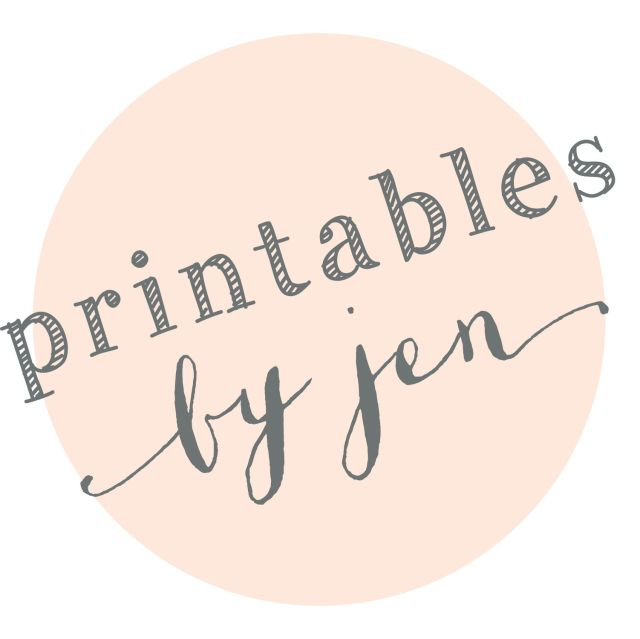 Wedding DIY Printables | Printables by Jen