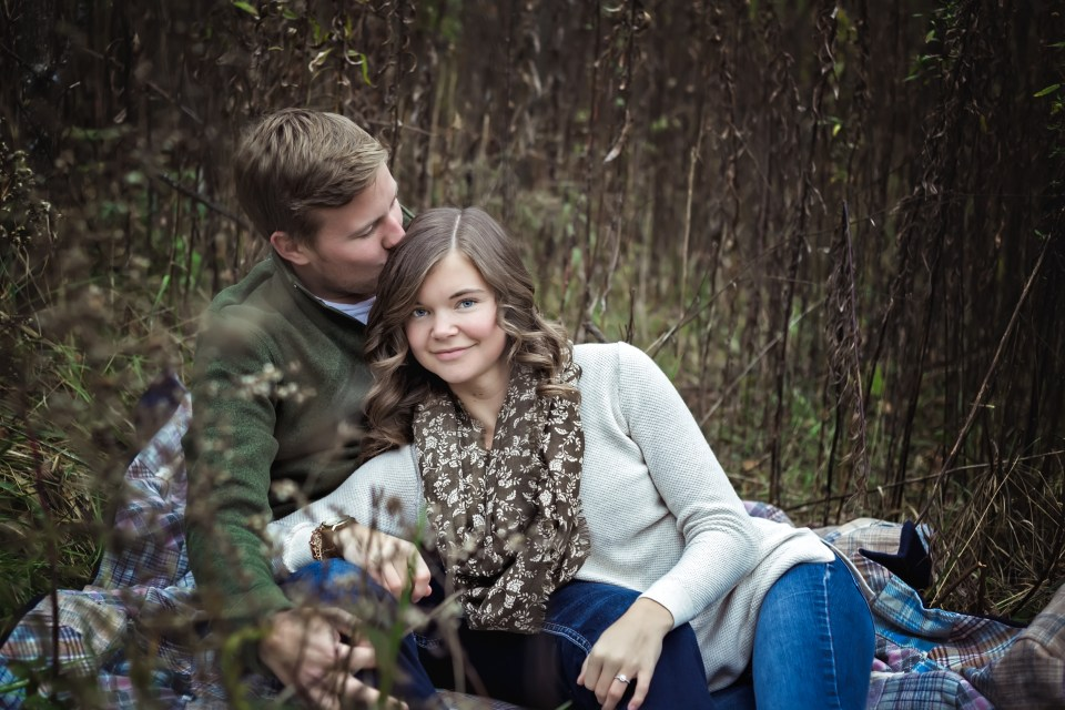 Fall Engagement Session at Cassell Hollow Farm | Pink Spruce Photography