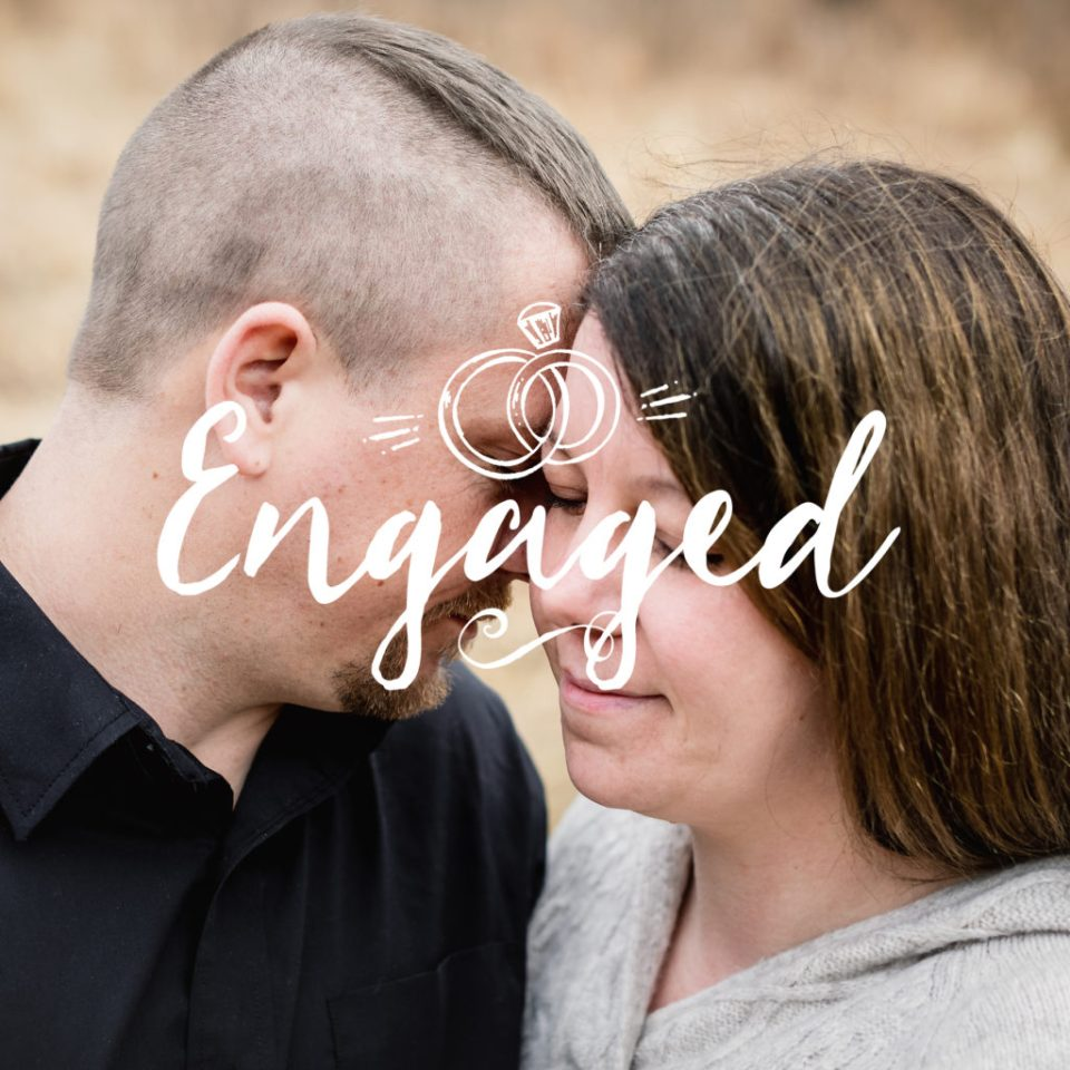 La Farge, Wisconsin Engagement Session · Jennifer + Barney
