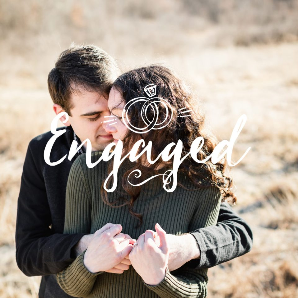 Sunrise Engagement Session at Cassell Hollow Far · Alyssa + Will