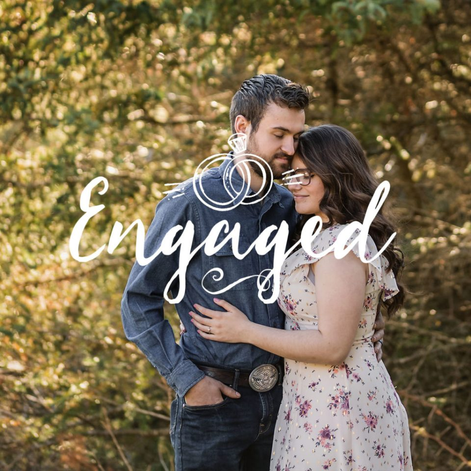 Engagement Session at Cassell Hollow Farm · Sarah + Gabe