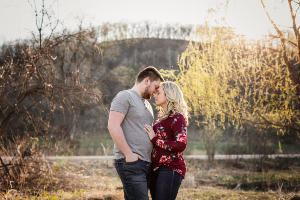 Engagement Session at Cassell Hollow Farm · Vanessa + Dustin
