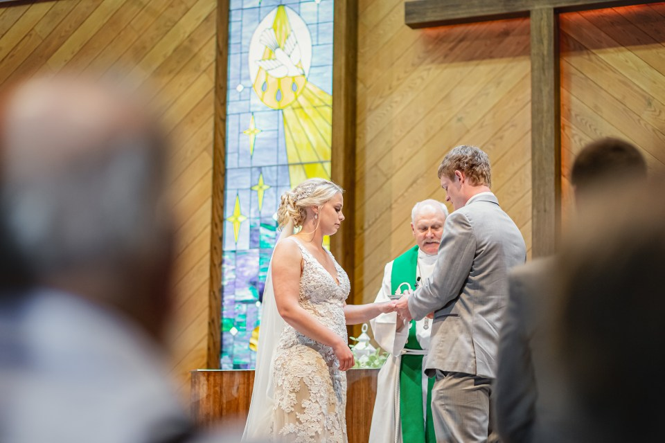 Central Lutheran Church Wedding · Mondovi, Wisconsin