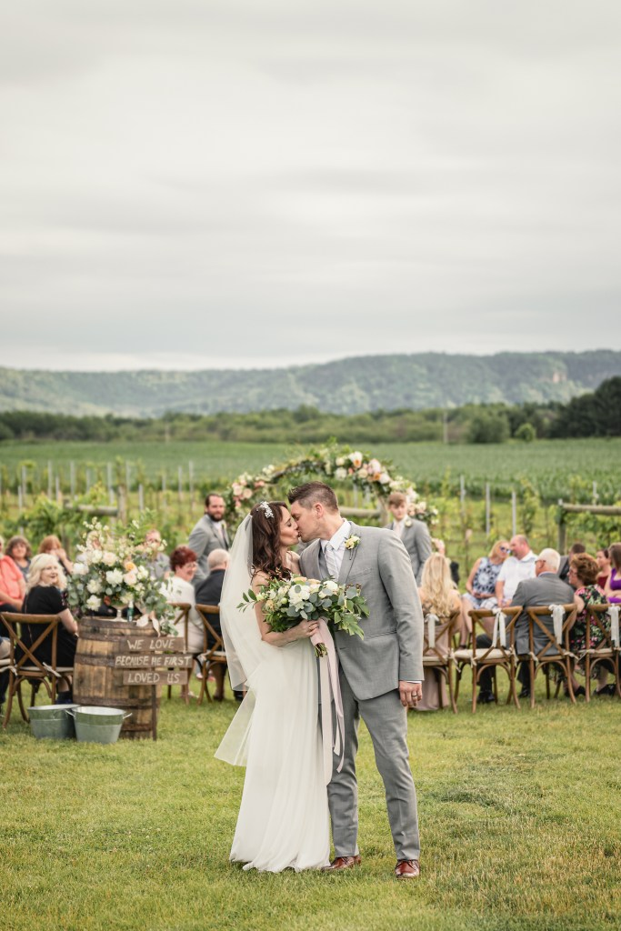 Elmaro Vineyard Wedding · Trempealeau, Wisconsin