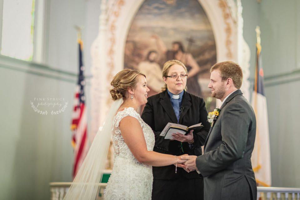 Tamarack Lutheran Church Wedding · Arcadia, Wisconsin