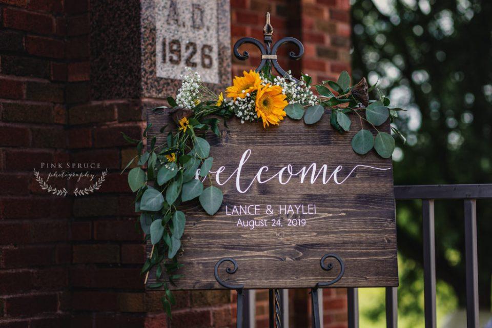 Tamarack Lutheran Church Rustic Wedding · Arcadia, Wisconsin