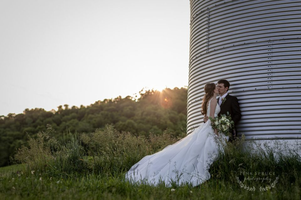 Rustic Farm Wedding at The Waumandee House | Dori + Logan | Pink Spruce Photography - Waumandee, WI Wedding Photographer