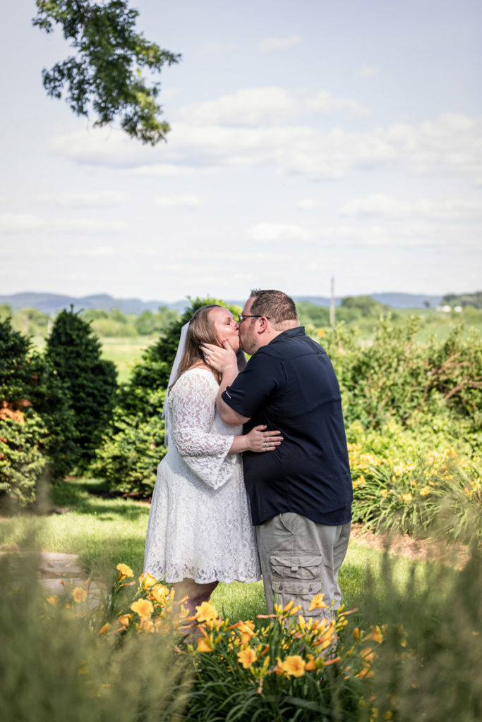 Elopement at Justin Trails Resort in Sparta Wisconsin | Elizabeth + Robert | Pink Spruce Photography – Sparta Wisconsin Wedding Photographer