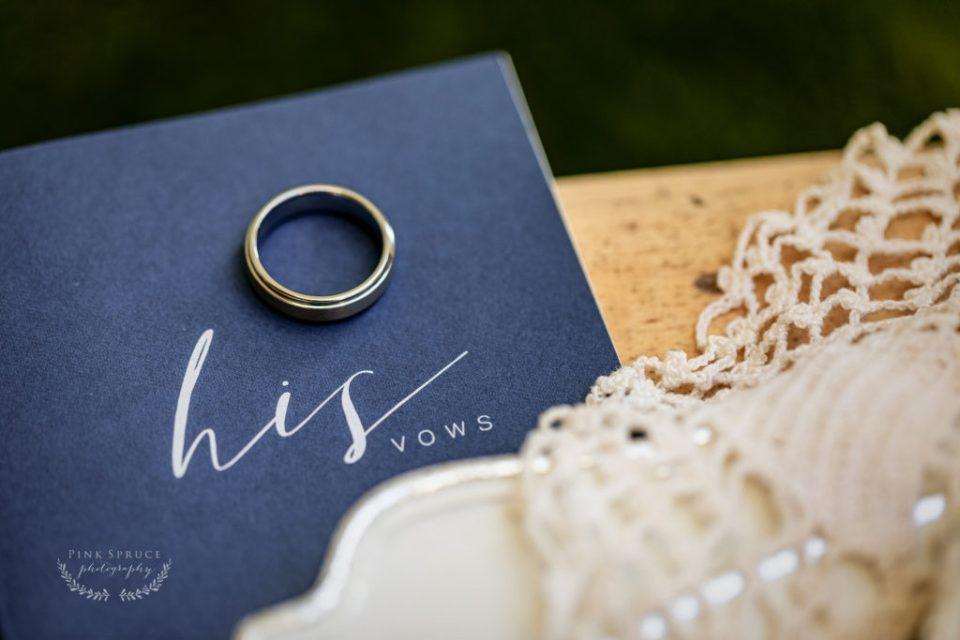 Winnebago Springs Wedding Ring · McKennah + Jacob   Minnesota Wedding Photographer