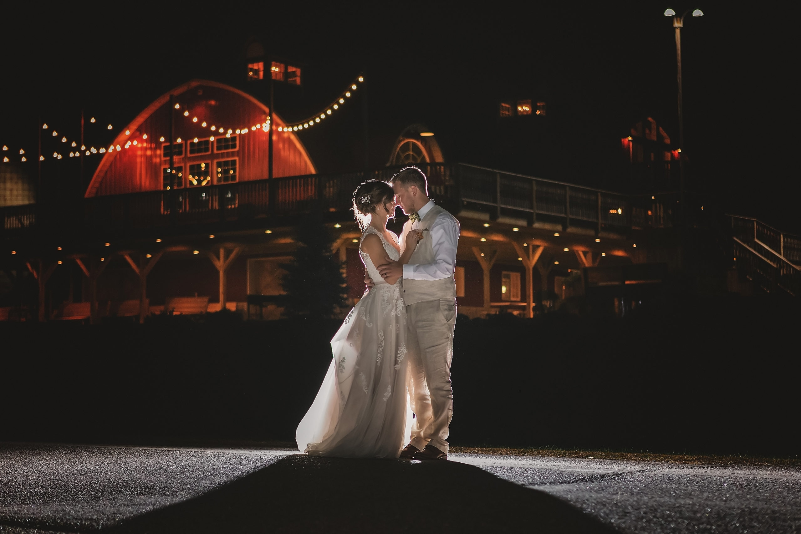 Twilight Session with Pink Spruce Photography at The Barn on Stoney Hill