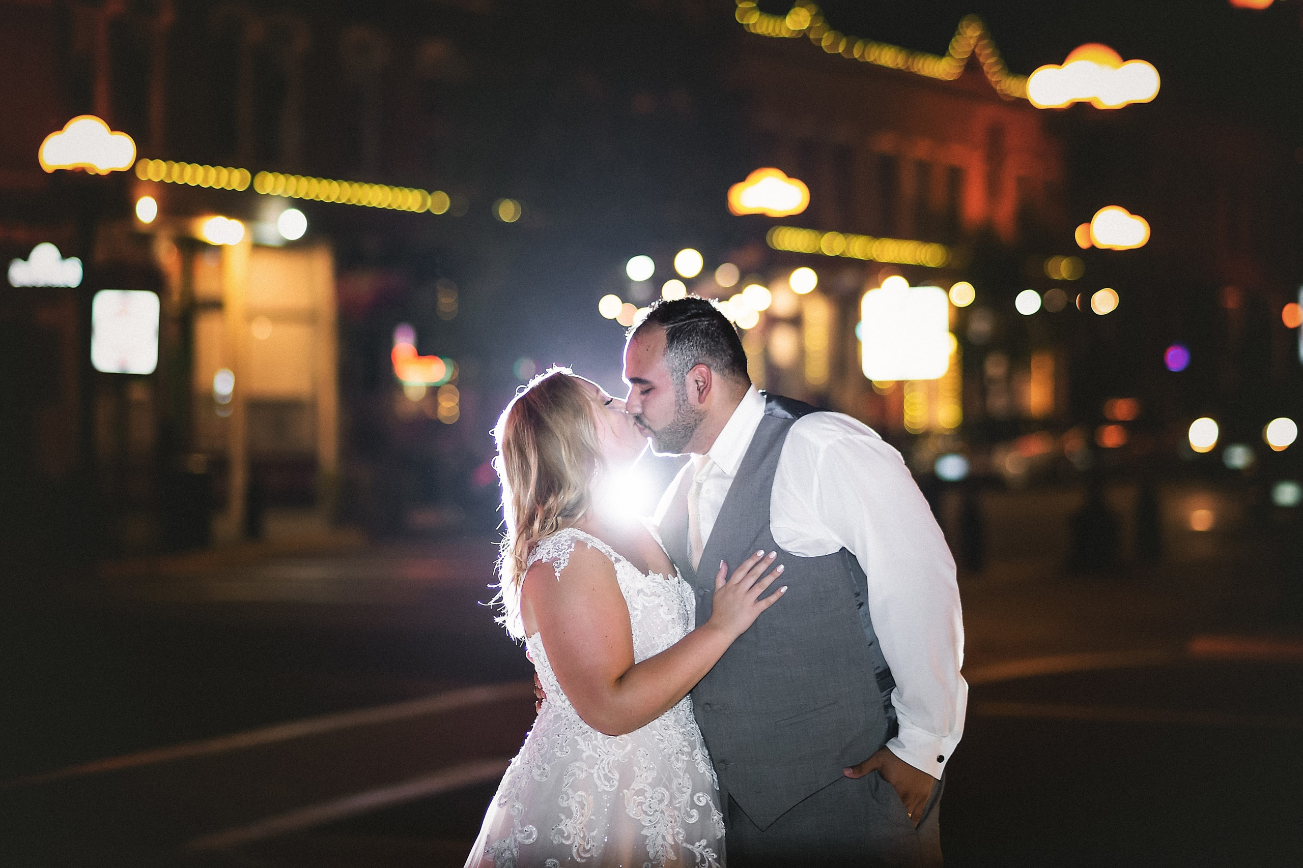 Twilight Session with Pink Spruce Photography on Pearl Street in La Crosse, Wisconsin