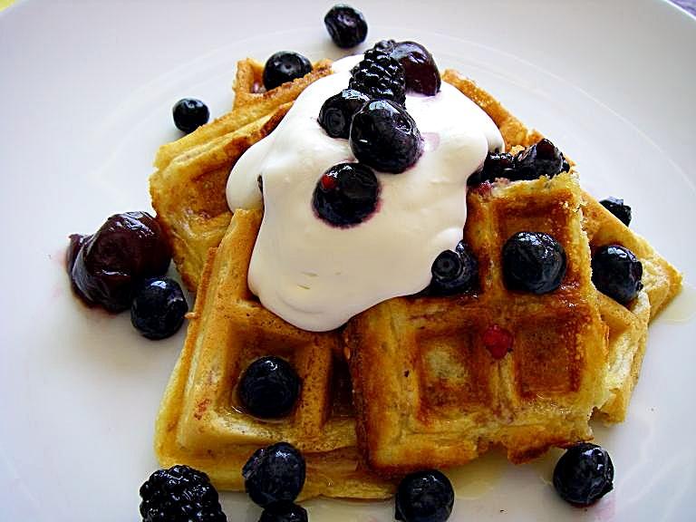 flaxseed waffles