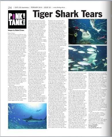Article by PT Hirschfield