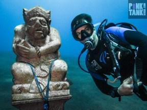 LOGO Adrian and Weird Bali Statue