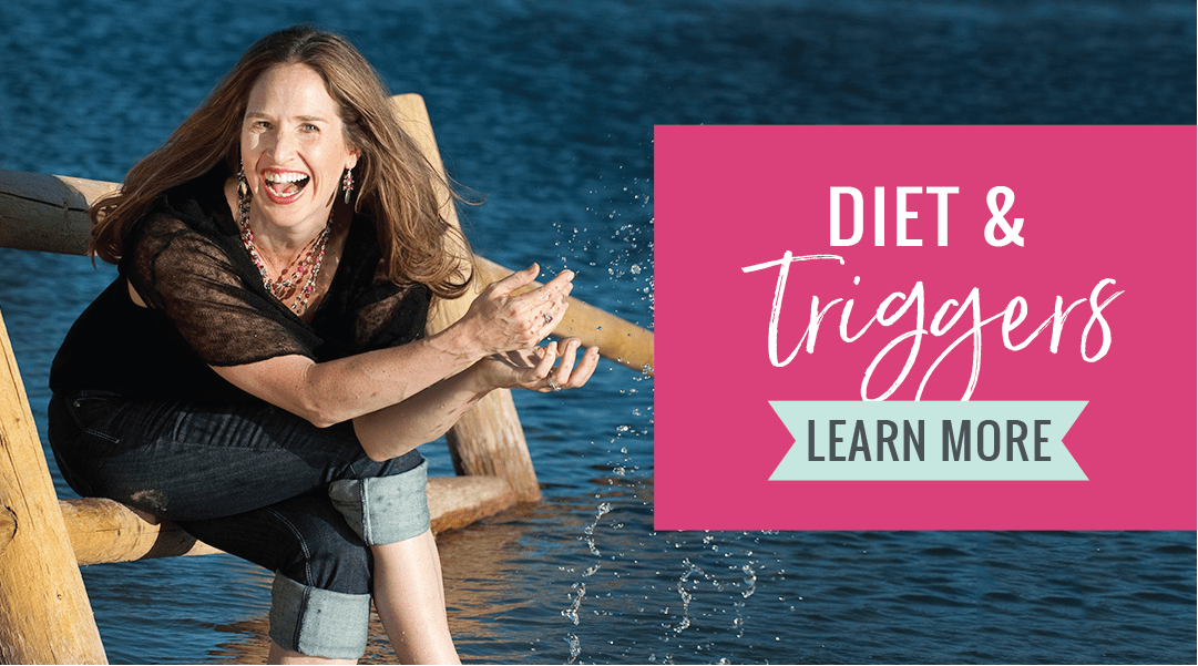 Diet and Triggers - Pink Tent by Dr  Kelly Martin Schuh