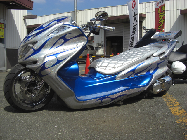 Tuned scooter from Japan --