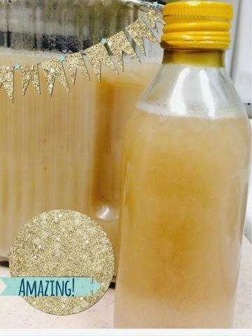 DIY dorm room decor bath gel