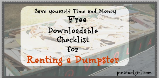 the day the dumpster came checklist