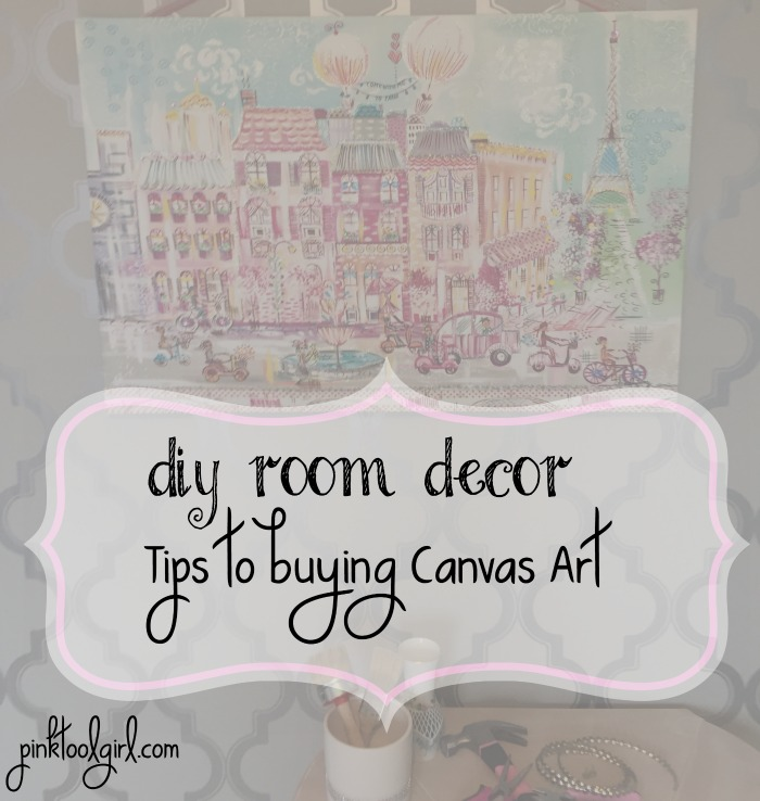 diy room decor tips for buying canvas art