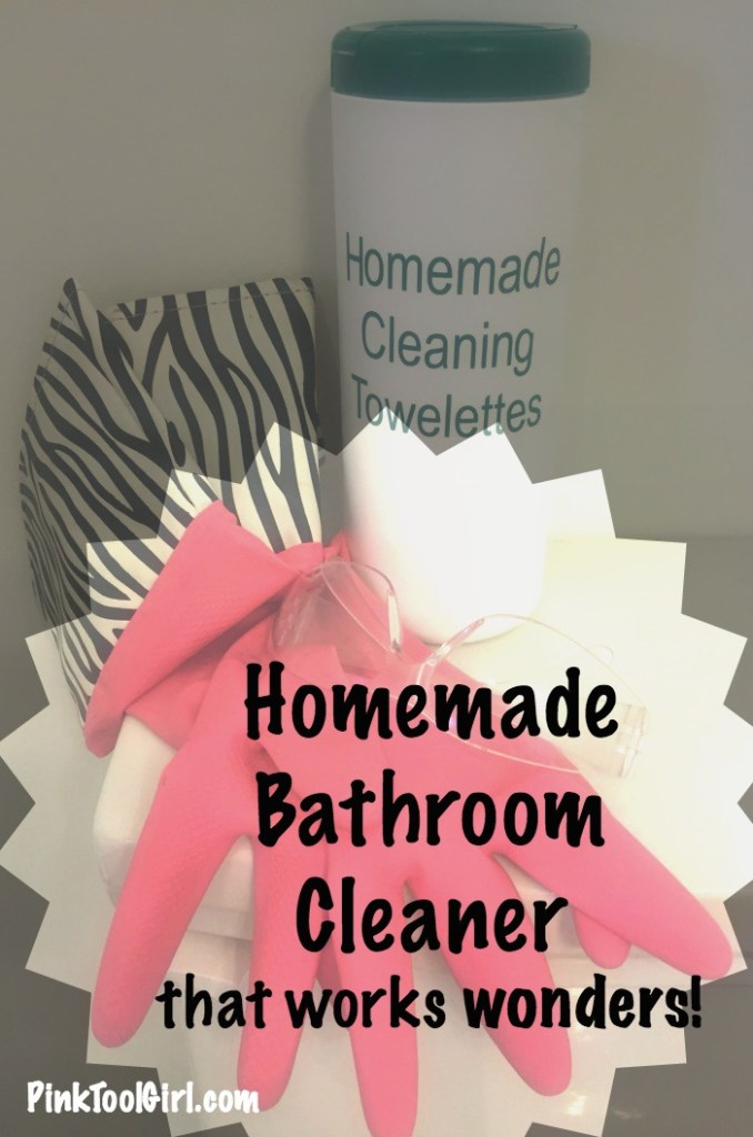 homemade bathroom cleaner towelettes 2 - Homemade Bathroom Cleaner