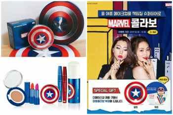【韓妝】韓國彩妝主題天馬行空無極限~The Face Shop推出超帥Marvel超級英雄彩妝系列。