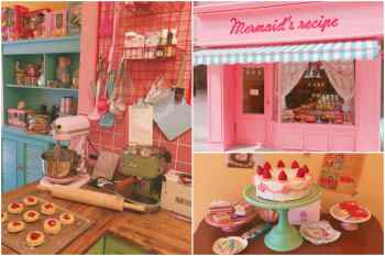 【韓旅】簡直就是真人版芭比娃娃屋~一走入這家位於首爾的Mermaid's recipe,少女心立即大迸發!