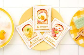 """【日本生活雜貨】這樣泡澡會飢餓難耐耶~ 日本生活雜貨品牌Dreams推出全新""""幸福烤土司口味""""入浴粉~"""
