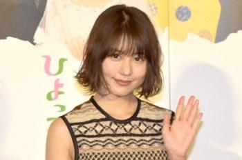 【日娛】以清爽短髮造型示人!有村架純出席「雛鳥2」記者招待會。