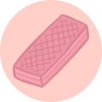 pink wafer logo