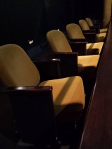The elegant seating at Herberger Theater Center-Stage West