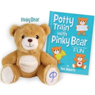 PinkyBearandBook-500