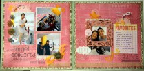 Target acquired Scrapbook layout