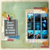 remember moments layout