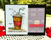 today is a good day card