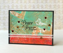 Peace and Joy card