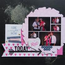 Crazy Fun Photobooth Scrapbook layout